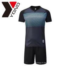 Maillot de football New Top qualité personnalisé votre maillot de football Logo