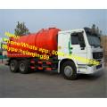Caminhão da sução da água de esgoto da capacidade do tanque de HOWO RHD 16m3