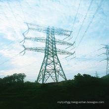 220kv Pipe Power Transmission Steel Tower