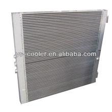 Maschinenbau Wärmetauscher / Platte Fin Typ Luft Ölkühler