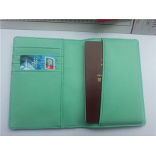 Cubierta de pasaporte con soporte de tarjeta