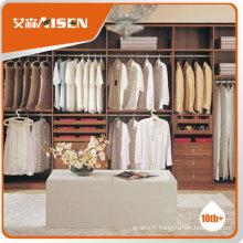 2 heures répondu usine prix directement tableaux de garde-robe, walk in closet mobilier de maison adapté
