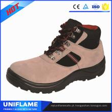 Mulheres trabalham botas de segurança rosa Ufa088