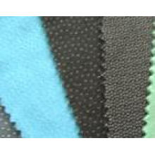 Accesorio para prendas de vestir tejido doble punto entrelineado