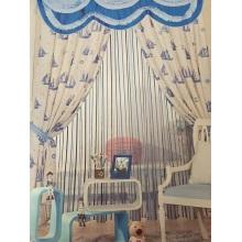2016 Morden Tecido de poliéster tecido de cortina de janela EDM4886