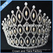 Krone Box Krone Elektronik TV Krone königlichen Stuhl Perle und Diamant Tiaras