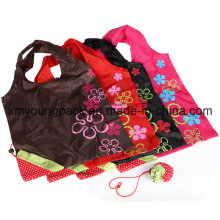 Wholesale Promotional Cheap Foldable Reusable Strawberry Shopping Tote Bags