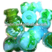 оптовая ароматерапия бутылки масла духи флакон ожерелье духи кулон муранского стекла аромат ожерелье