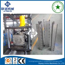 Machine de production de rollform de cadre d'étagère de stockage