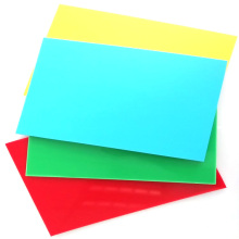 Customized Color Available A4 Size Rigid PP Plastic Binding Cover Sheet