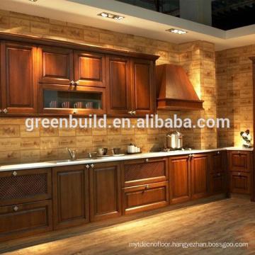 White Oak Solid Wood Kitchen Cabinet Designs
