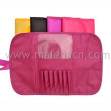 Saco cosmético, bolsa de escova de maquiagem