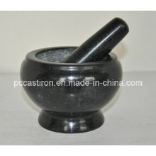 Marble Mortars and Pestles Size 14X10cm