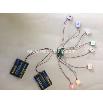 POP Display Flasher, luz intermitente LED, módulo de luz LED