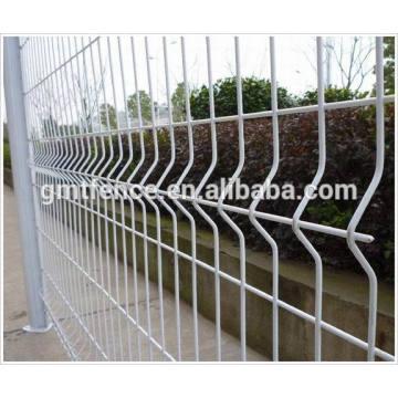 GMT Anping fabrica galvanizado decorativo malla de arame barata painéis de cerca
