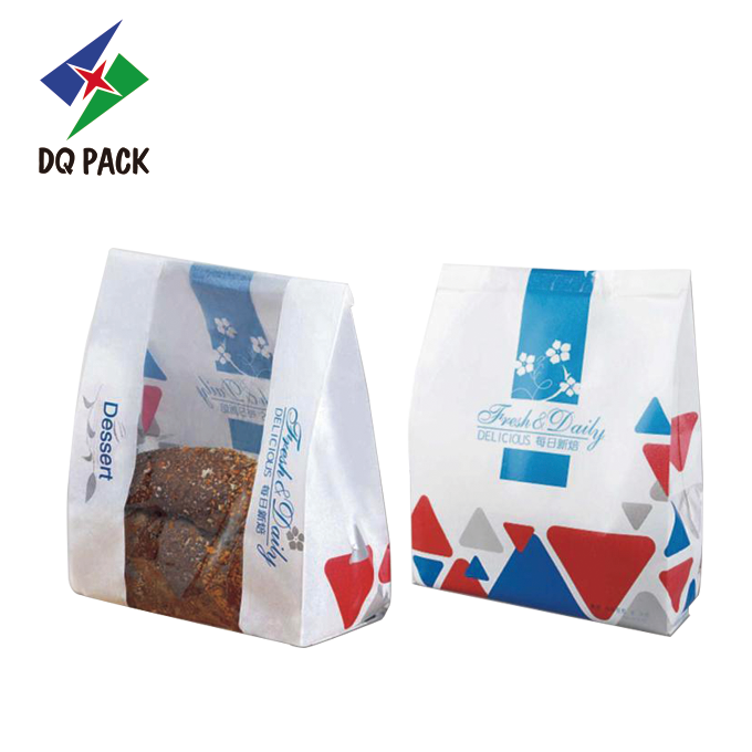 Bread Bag Kraft Paper Bag Plastic Paper Bag