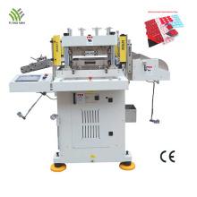 Máquina cortadora de fita de espuma dupla face plana