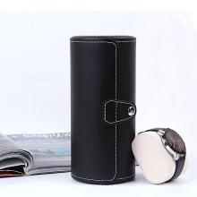 Черная искусственная кожа для украшения часовых коробок