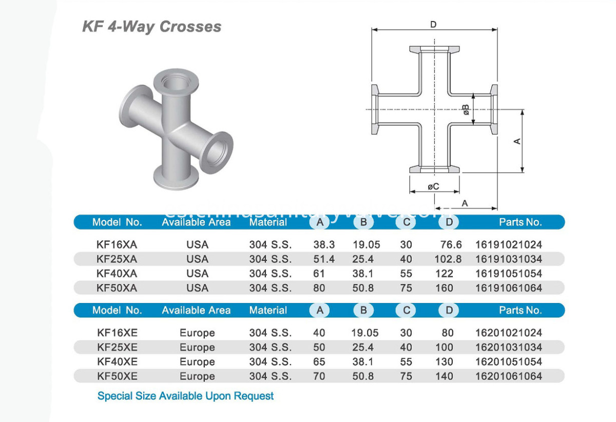 KF 4WAY CROSS