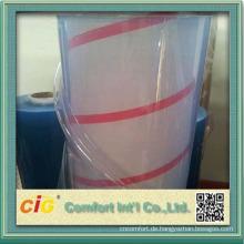 Klar-transparente PVC-Folie