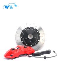 Vermelho de alta qualidade e forte racing 6 pistões para BMW 118i carro 18 rodas de aro grande pinça de freio