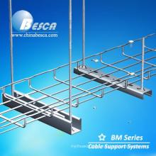 SUS 304 Galvanised Electro Zincado Hot Dip Galvanized Wire Mesh Cable Tray with Waves (UL,cUL,CE,NEMA,IEC)