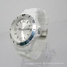 Neue Umweltschutz Japan Bewegung Kunststoff Mode Uhr Sj072-8