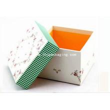 Коробка подарка бумажной коробки высокого качества с рециркулировать печатание