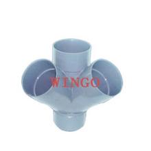 Molde de accesorios Molde de tubería de plástico Molde de accesorios de PPR