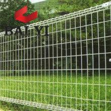 Clôture de fil à double boucle enduite de PVC