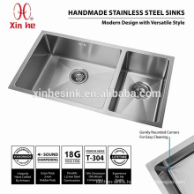 Australia Stainless Steel Handmade Kitchen Sink with double bowl