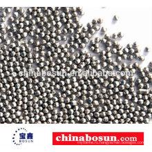 304 из нержавеющей стальной дроби для дробеструйной обработки используется для литья деталей удаления ржавчины из нержавеющей стали выстрел