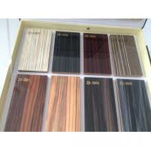 Panneaux en MDF laminés en bois brillant pour armoire de cuisine (zhuv)