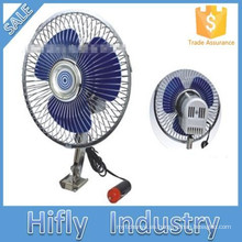 HF-809 DC 12V / 24V Ventilador del coche Oscilante Portátil Auto Ventilador del coche 8 Pulgadas Mini Ventilador del ventilador del coche