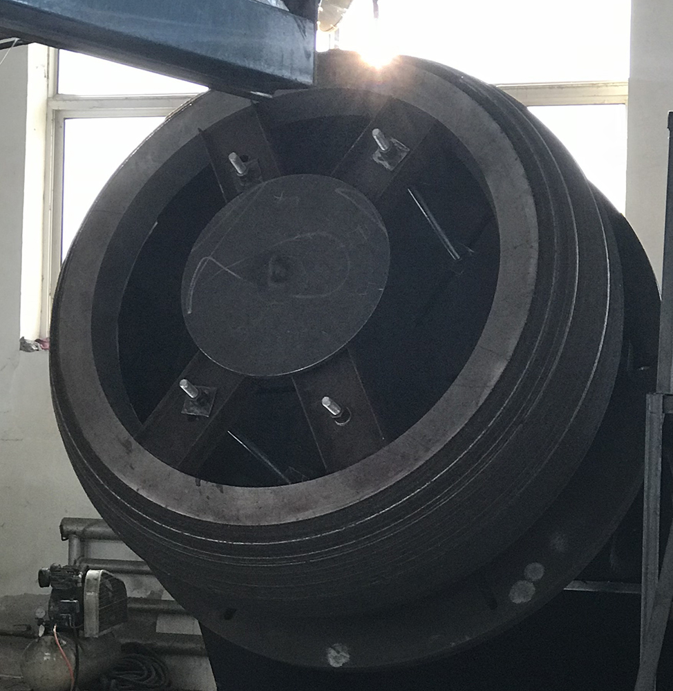 Chromium Carbide Overlay Grinding Tire