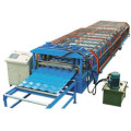 Glazed / Color Tile Roll Forming Line Produksi Mesin