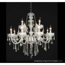 Clear Crystal Decoration Chandelier (W6306-8+4)