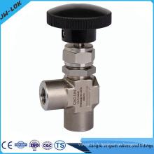 1/4 valve d'aiguille d'angle NPT femelle