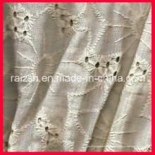 Gestickte Mesh Garn Stickerei lösliche Stickerei Chiffon Fabric