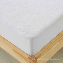 Waterproof 100% Cotton Terry Mattress Protector / Mattress Cover