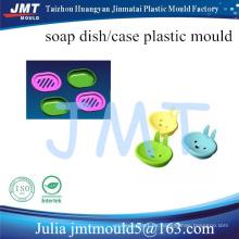 herramienta de moldeo por inyección de plástico plato de jabón