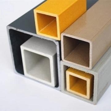 O Pultrusion de alta qualidade FRP perfila o tubo do quadrado da fibra de vidro