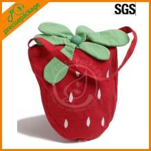 New Design Cute Customized Cotton Shoulder Bag