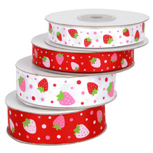Strawberry Grosgrain Ribbon