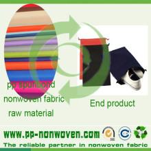 Spunbond Polypropylene Nonwovens para saco de sapatos