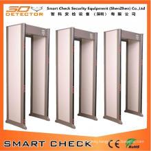 Factory Wholesale 33 Zones Security Gate Walk Through Metal Detector