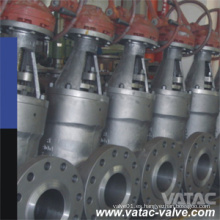 Metal asentado Stl A216 Wcc / CF8m 5 # / 1 # / 8 # Válvula de compuerta