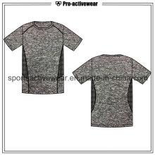 OEM Sublimação Nova Design Moda Casual Men Sport Shirt