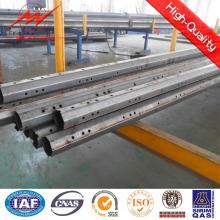 Tubos para uso general de acero galvanizado de la capa del polvo con el brazo cruzado