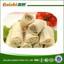 Chinese frozen vegetable spring rolls